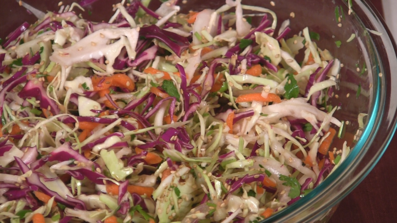 A New Spin On Summer Coleslaw
