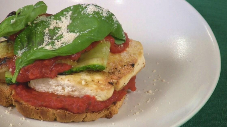 Grilled Italian Zucchini Sandwiches