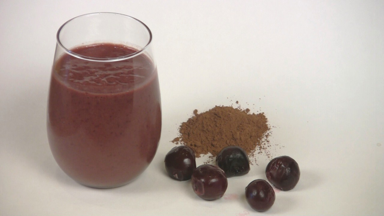 Chocolate Cherry Nirvana Smoothie