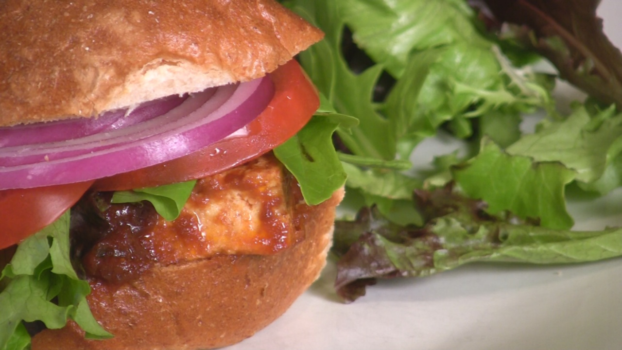Delectable Planet :: BBQ Tofu Sandwich Recipe