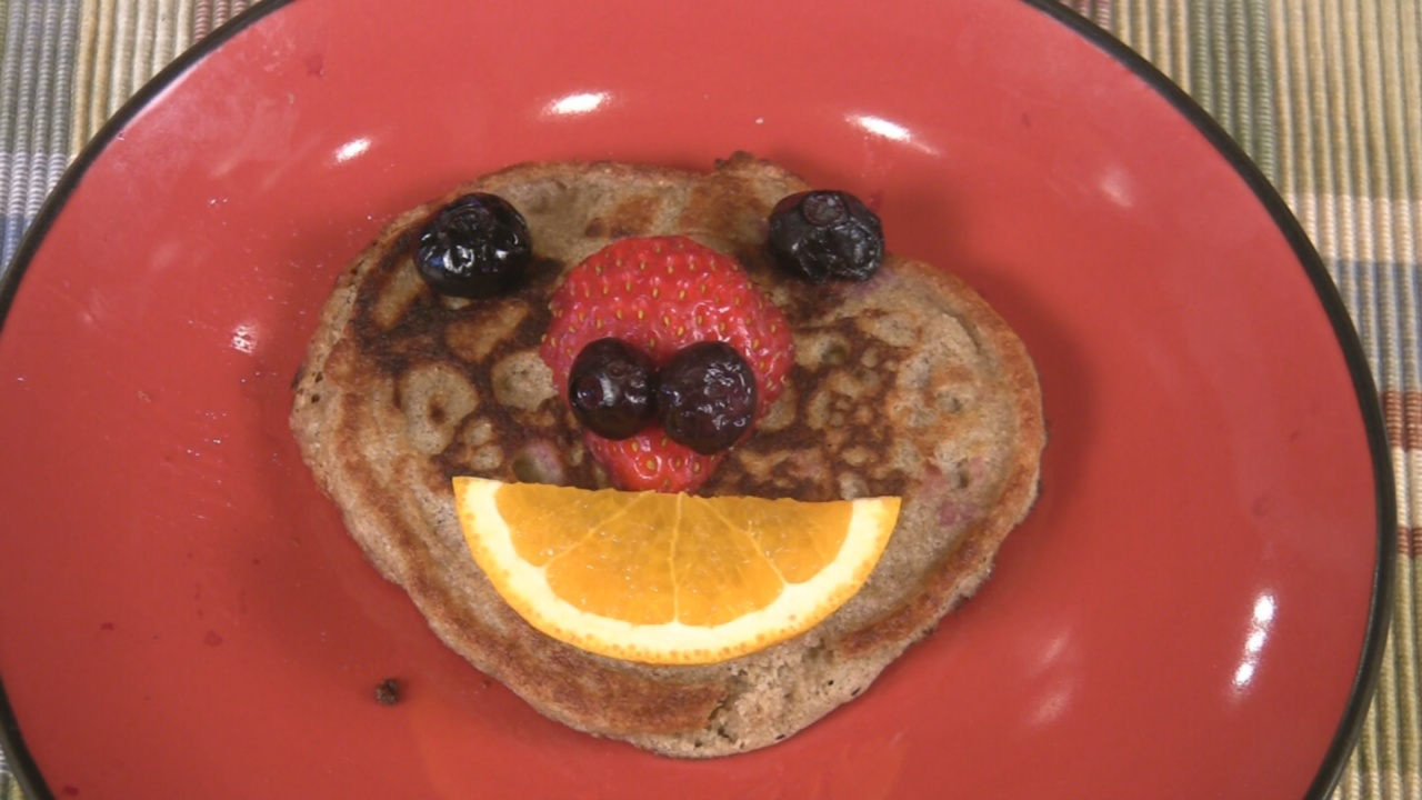 Buckwheat Face Pancakes