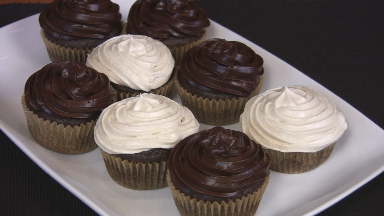 Cocoa Cupcakes and Frosting