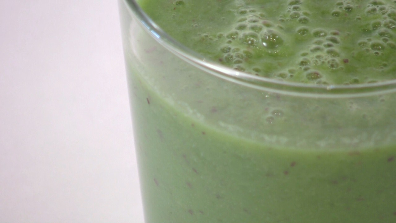 Green Goddess Breakfast Drink