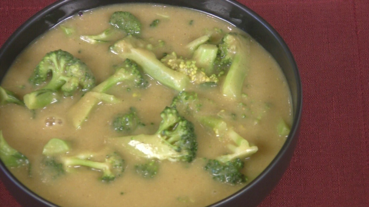 Delectable Planet :: Cream of Broccoli Soup Recipe