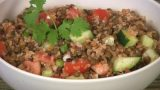 Lentil and Bulgur Salad