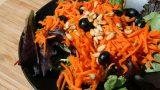 Pine Nut Carrot Blues Salad